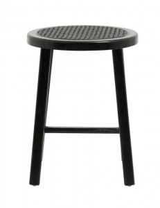 TABORET WICKY BLACK NORDAL